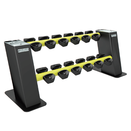 Hf P128 2 Level Dumbbell Rack Great Goody Health And Sport